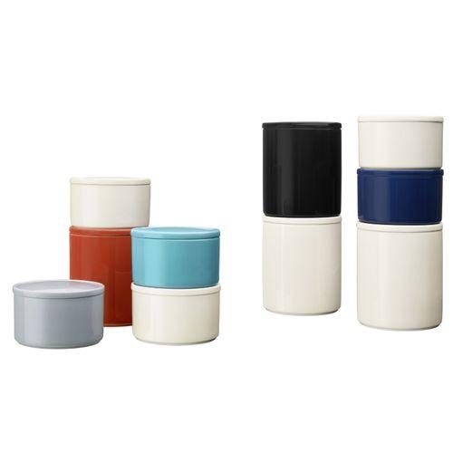 iittala Short Purnukka Jar - White - iittala Jars http://buyapothecaryjars.com/iittala-jars/