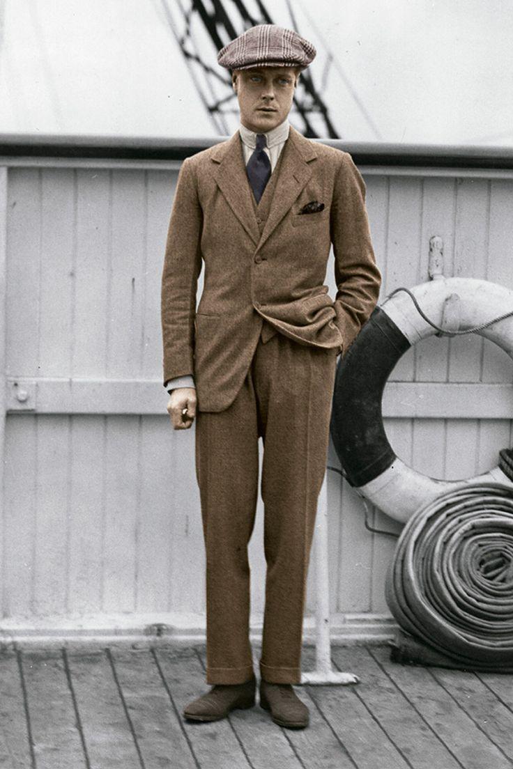 Traje de 'tweed' - Duque de Windsor   Galería de fotos 1 de 26   GQ3