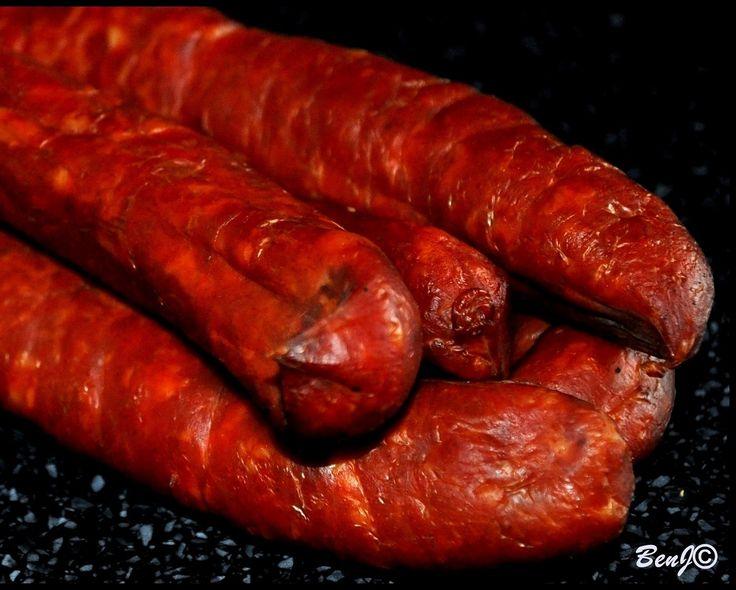 Homemade sausage...