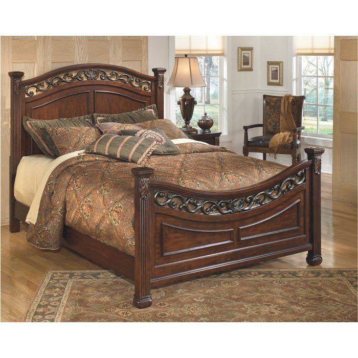Three Posts Cedar Creek Panel Configurable Bedroom Set Wayfair Furniture Panel Bed Ashley Furniture