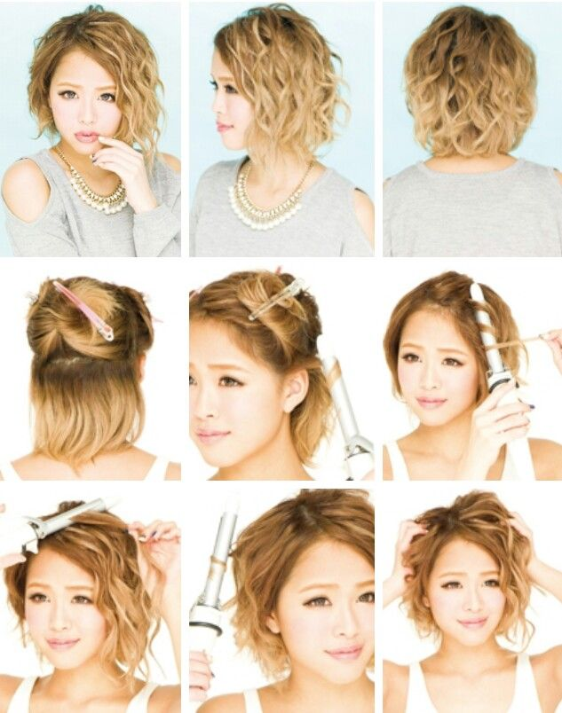 Gyaru hair tutorial