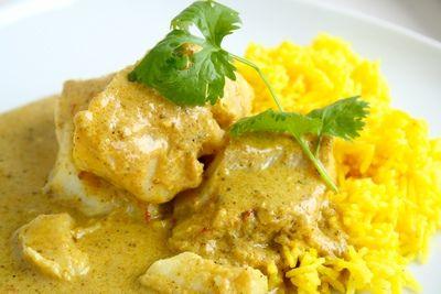 Torsk med indisk kokoscurry – MajBrittAagaard