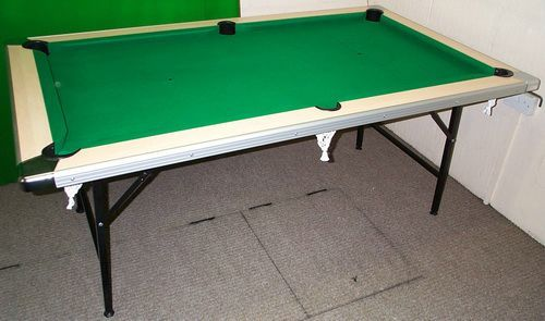 Folding 8ft Pool Table