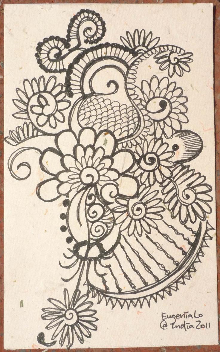 Mehndi Patterns Templates : Images about indian mehndi henna designs