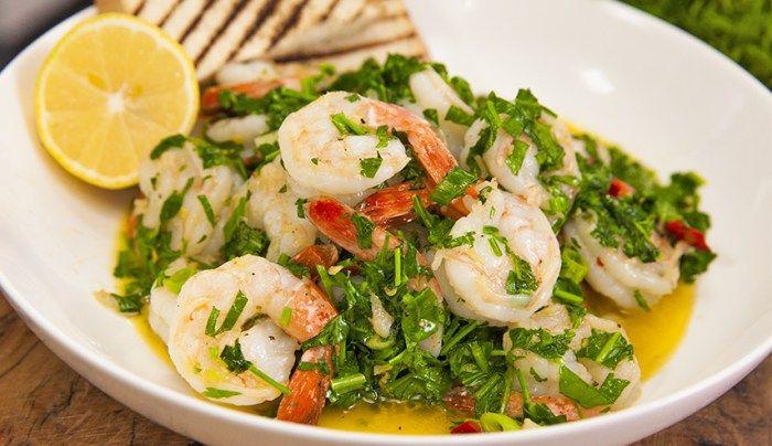 Garlic Prawns - Good Chef Bad Chef