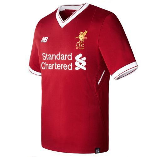 New Balance 732263 Men's LFC Mens Henderson Home SS EPL Patch Jersey - Red (MT732263RDP)