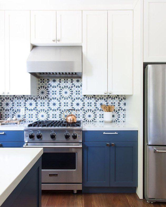 Home Tour A Stunning Spanish Style Home In Los Angeles Kitchen Backsplash Designs Spanish Style Kitchen Spanish Kitchen