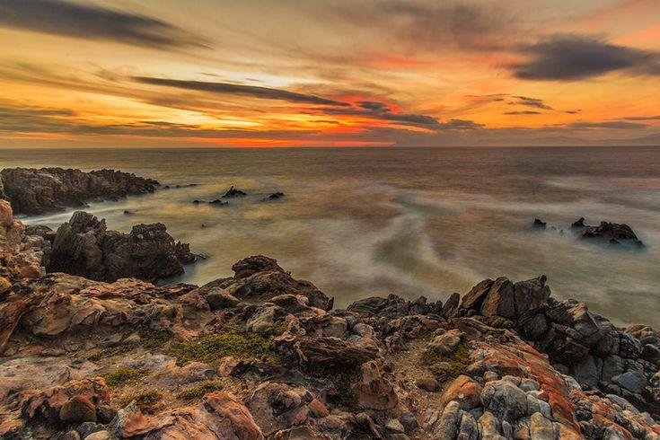 De Kelders Cliffs by Pat Cooper