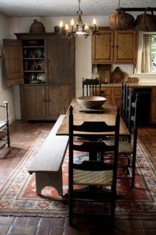 130 best ideas primitive country kitchen decor colonial house rh pinterest com
