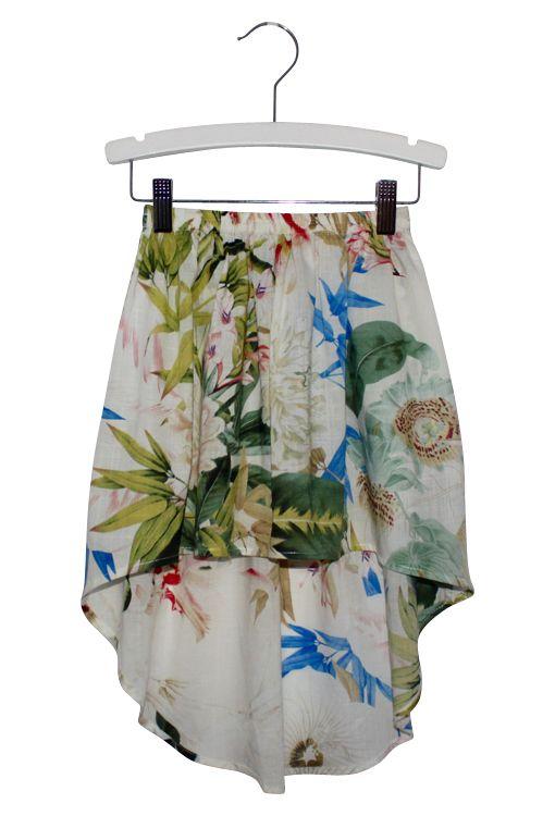 Billy Ray Dali Cream Skirt