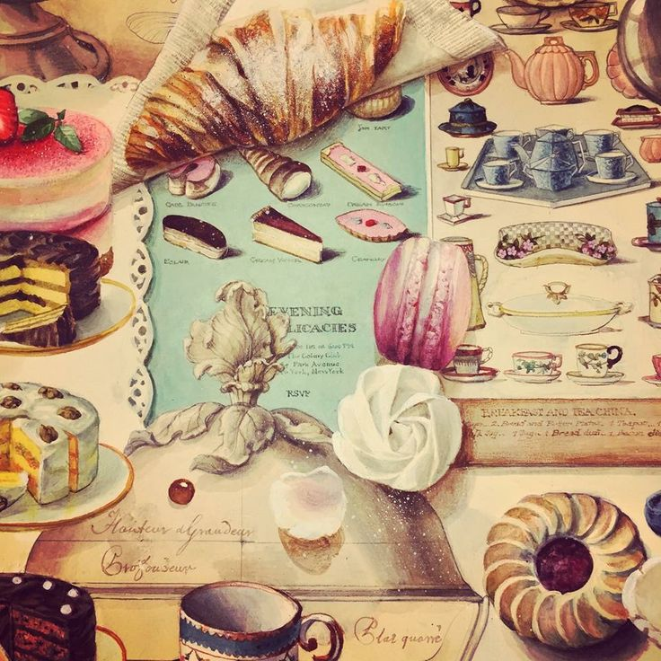 Food artwork