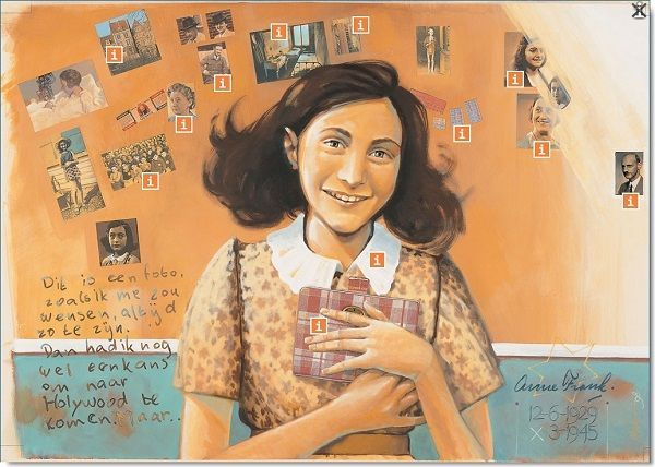 EduTip 4&5 mei    Lessenserie over Anne Frank voor het primair onderwijs http://www.schoolbordportaal.nl/lespakket-anne-frank-anne-frank-stichting.html #onderwijs #digibord