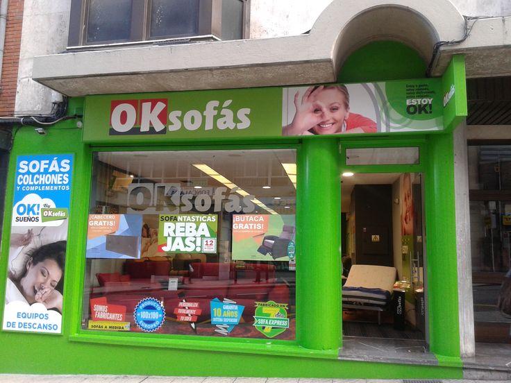 Tienda #OKSofas en #Oviedo