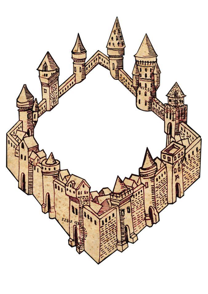 Quadro Mapa do Maroto Harry Potter * Canal Fora da Caixa *
