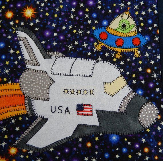 space shuttle quilt pattern - photo #37