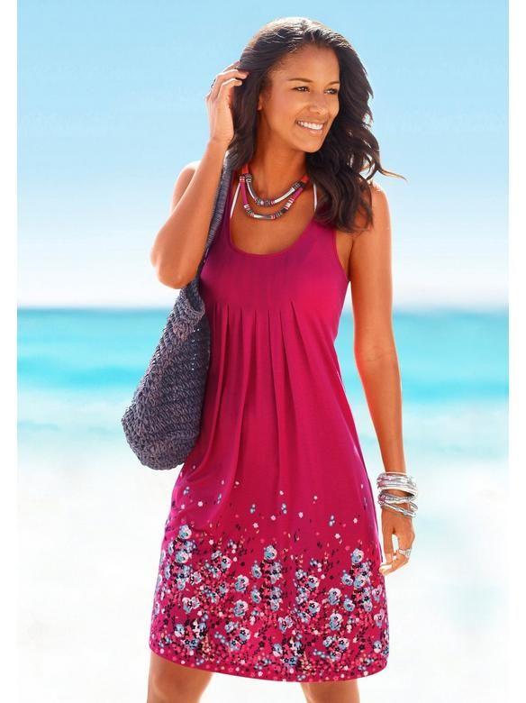 beach time beachtime strandkleid im heine online shop kaufen