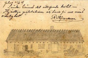Ystad i gamla vykort - www.123minsida.se/kjellb Var har detta hus funnits?