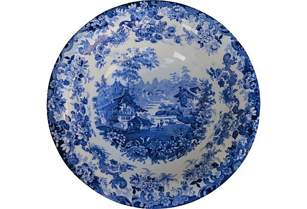 Minton Victorian Serving Bowl