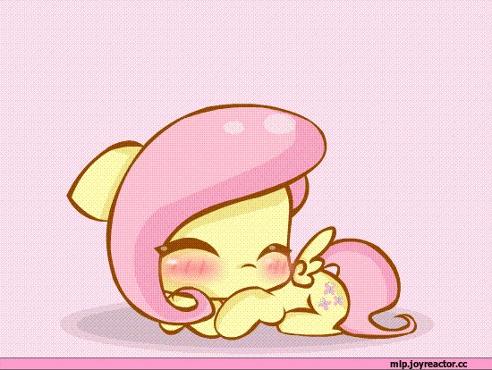 shhh.... we must be quiet, my friends. Fluttershy is asleep and we mustn't wake her.