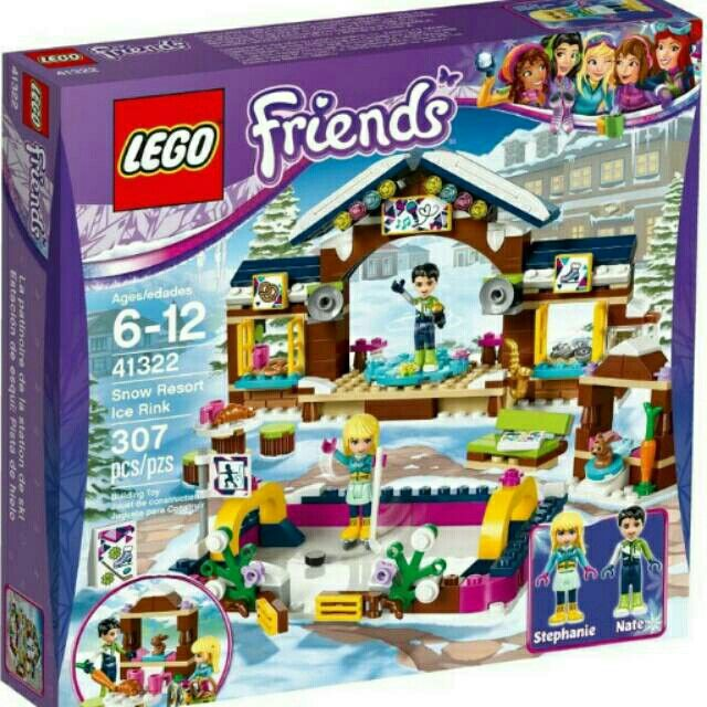 Temukan dan dapatkan Lego 41322 Friends Snow Resort Ice Rink hanya Rp600.000 di Shopee sekarang juga! https://shopee.co.id/jooira/431475765 #ShopeeID