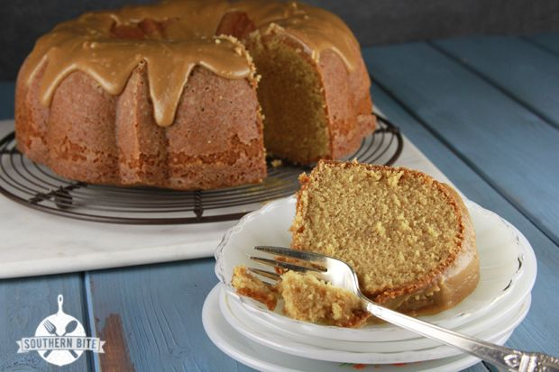Caramel Pound Cake - A Virtual Potluck for Christy - Southern Bite