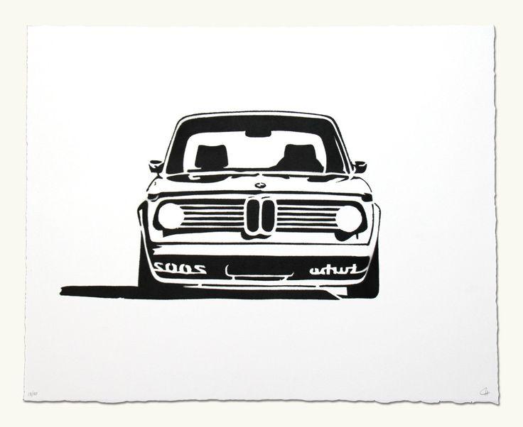 BMW 2002 Turbo Headshot
