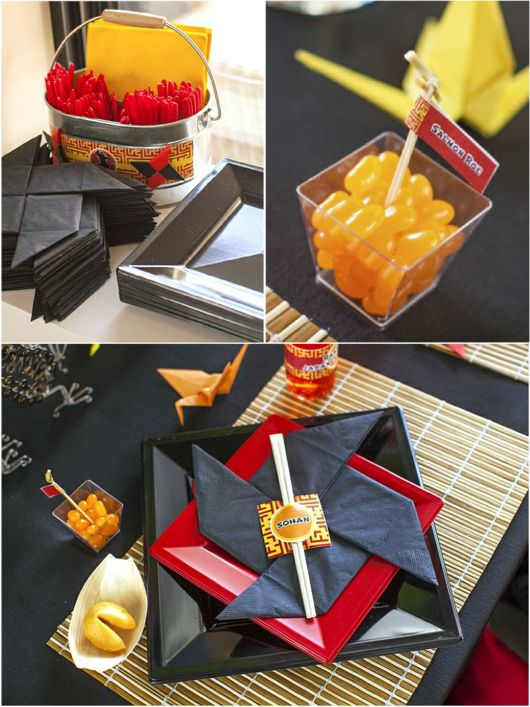 Ninja Japanese Birthday Party Printables Supplies & Decorations | BirdsParty.com