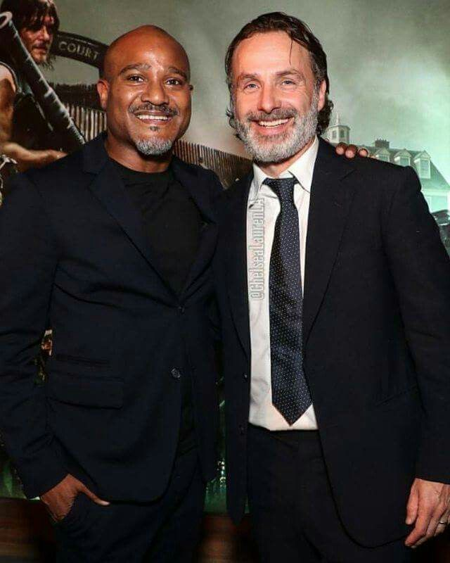 andrew lincoln & seth gilliam
