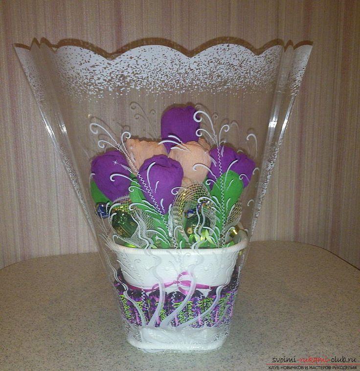 Мастер-класс научит как изготовить цветы из бумаги своими руками и составить из…