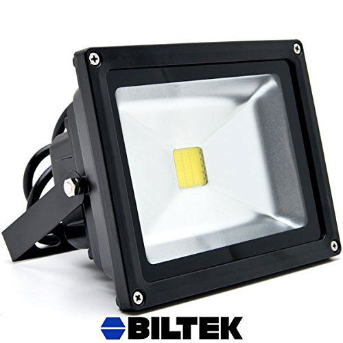 Best solar lights outdoor lighting reviews 170 biltek 20w led flood light cool white high power outdoor spotlights industrial lighting home security lighting outdoor house business surveillance safety mozeypictures Choice Image