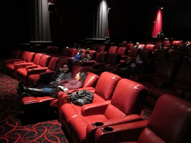 The AMC movie theater on 84th street just went full-on luxury with self-serve soda machines, lush red recliners, and reservation seating for every showtime. Never wait in line again!