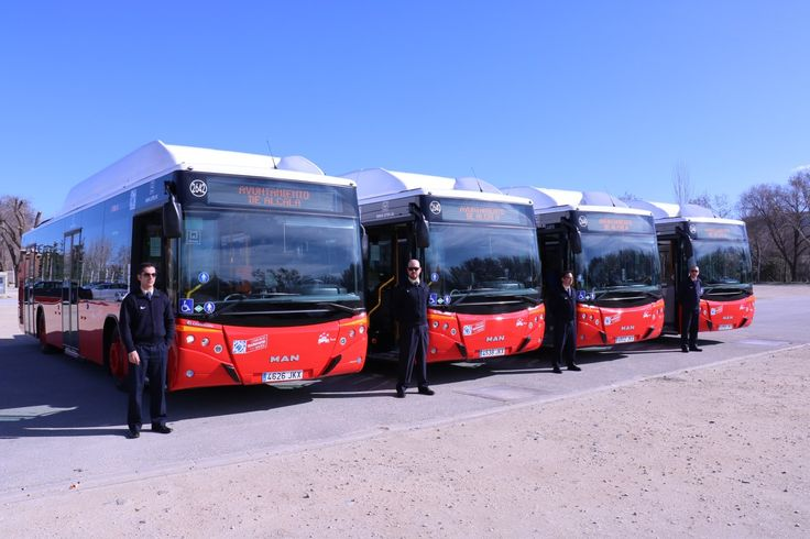 Nuevos autobuses urbanos para Alcalá de Henares - http://www.dream-alcala.com/nuevos-autobuses-urbanos-alcala-henares/