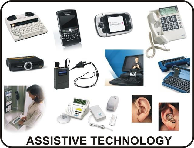 assistive technology at as a means of helping individuals with disabilities Definition of assistive technology devices and services assistive technology devices and services were first defined in federal law in the individuals with disabilities education act of 1990 (public law 101-476.