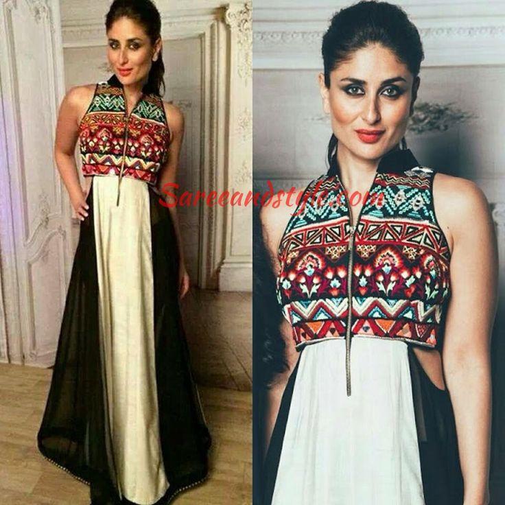 Kareena Kapoor in Archana Kochhar - Saree and Style
