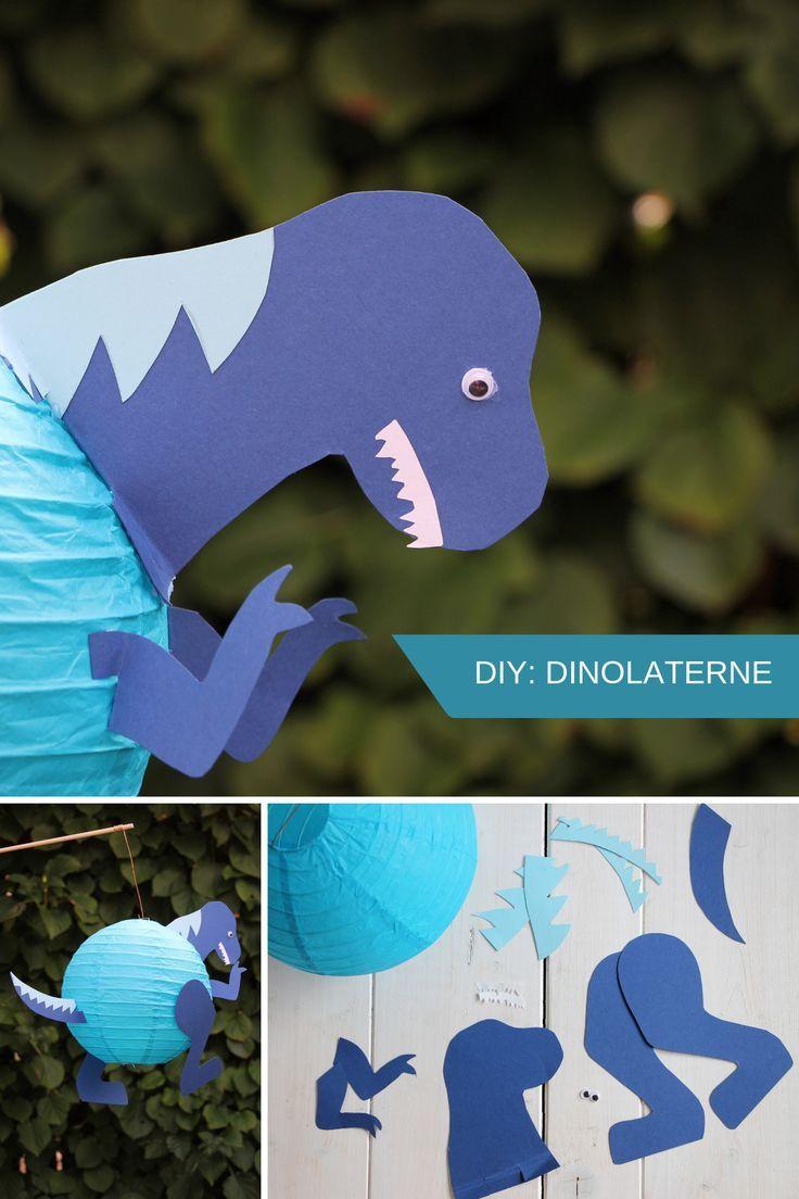 Dinosaurier Laterne Mit Kindern Basteln Mini Presents Blog 6
