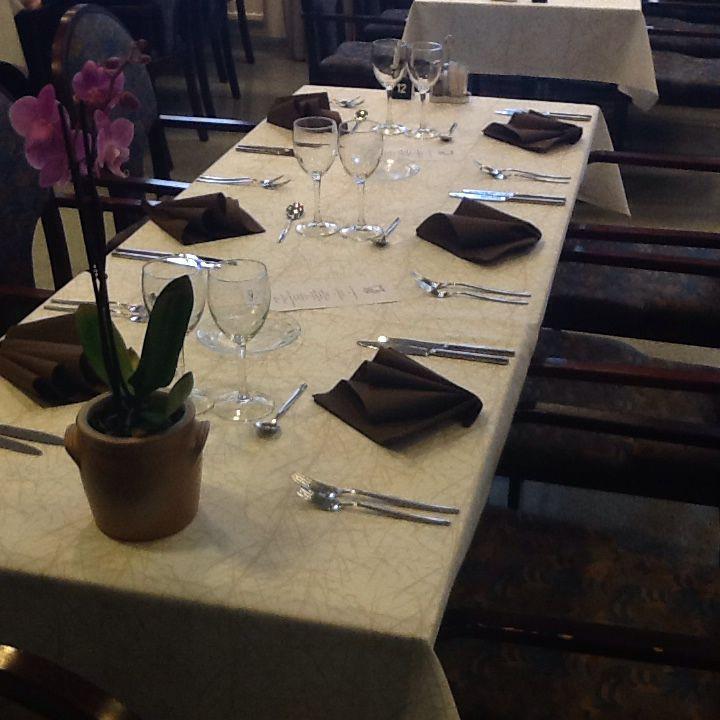 Peruskattusksia, Kotekon harjoitusravintolassa