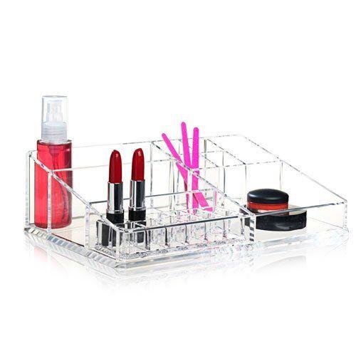 make up organizer i klar akryl fra nomess XL