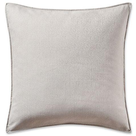 Highline Bedding Co. Hylton European Pillow Sham in Silver