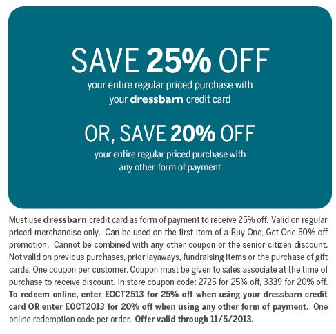14 best deals images on pinterest printable coupons coupon and dressbarn coupon dressbarn promo code from the coupons app off at dressbarn or online via promo code december fandeluxe Gallery