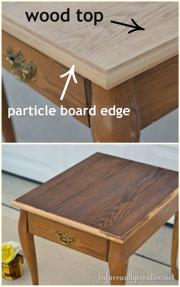 Queen Anne End Table Makeover