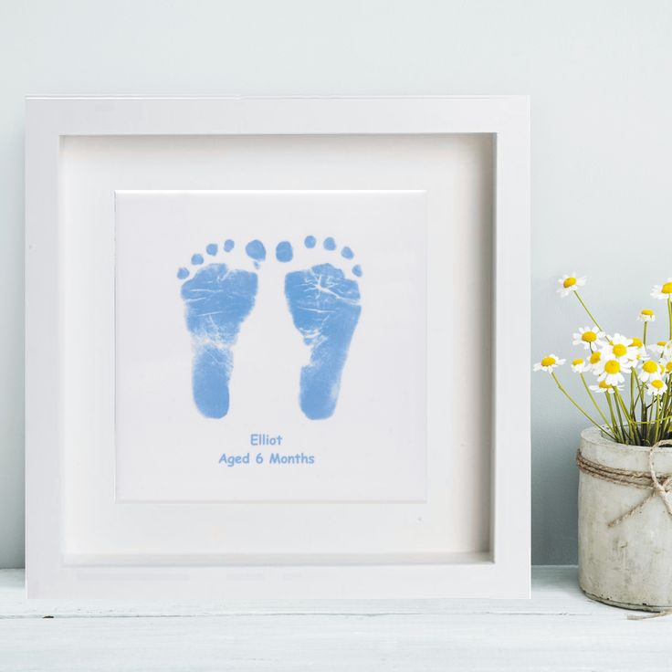 Ceramic footprint tile