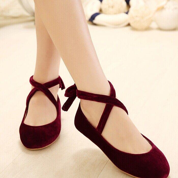 Japanese sweet lolita ballet shoes - Thumbnail 1