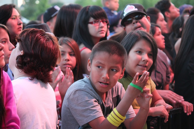 Packed crowd at The Forks for ADL 2012 - Winnipeg, MB  Photo By: APTN