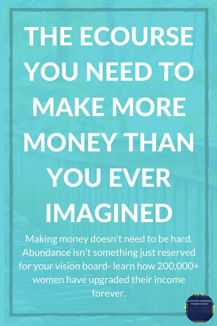 Abundance isn't something that's just reserved for your vision board, and a big-time bank balance isn't out of reach. The truth is, with the right steps and the right mindset, you can earn however much money you want. You just need to learn how.