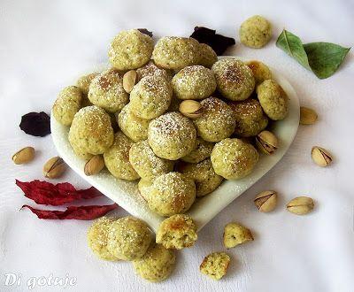 Di gotuje: Kruche kuleczki pistacjowe