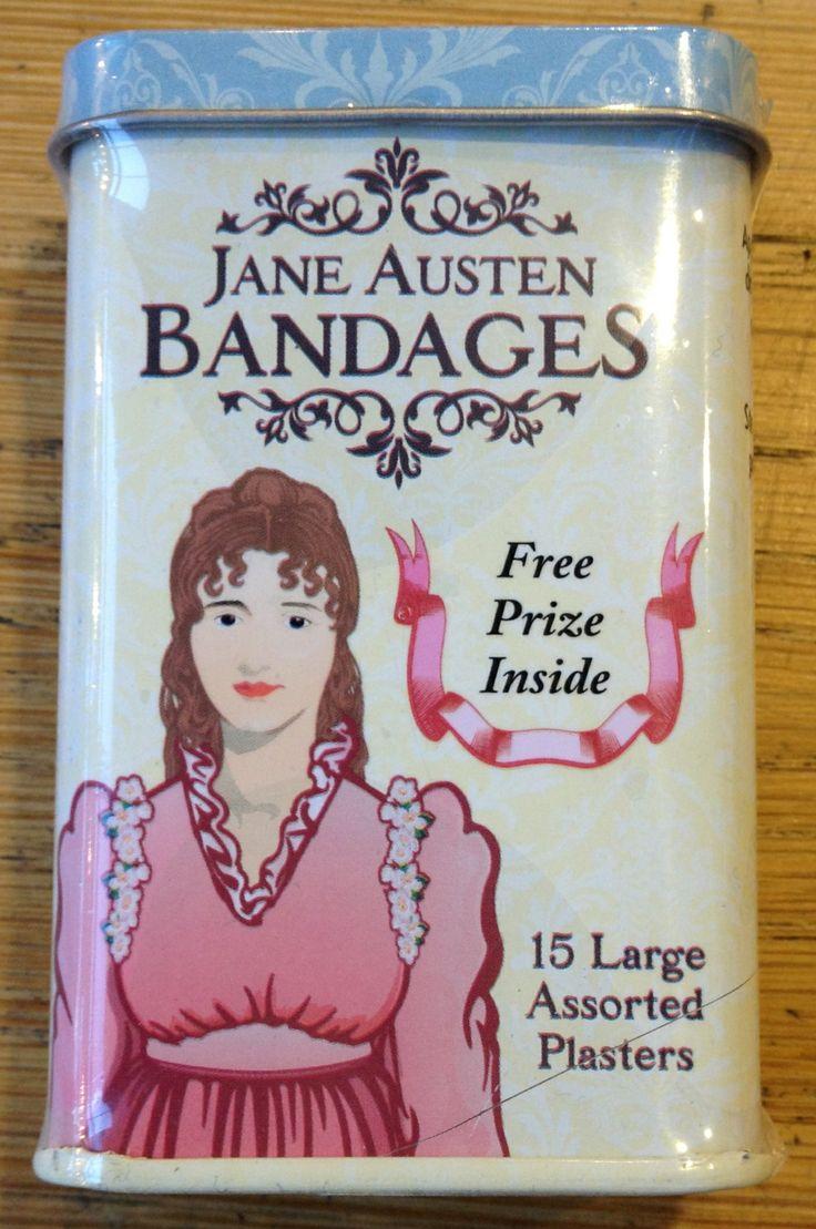 Jane Austen Bandages!