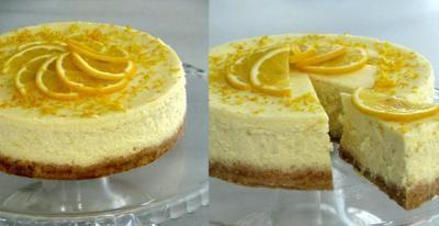 Limonlu Cheesecake (Peynirli Kek)