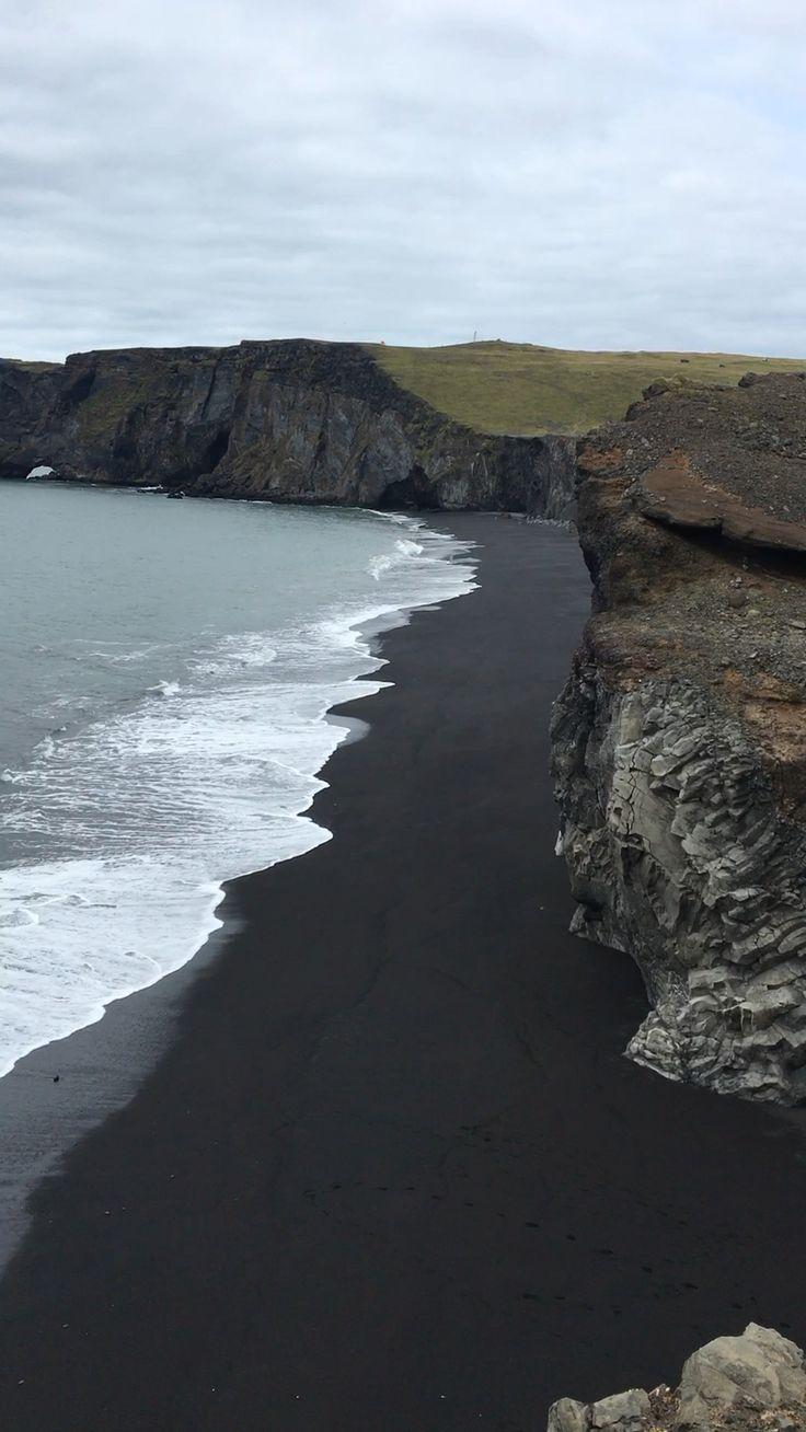 Kirkjufjara Black Sand Beach in Island – Lesen Sie unseren Reiseführer für alle …   – Travel