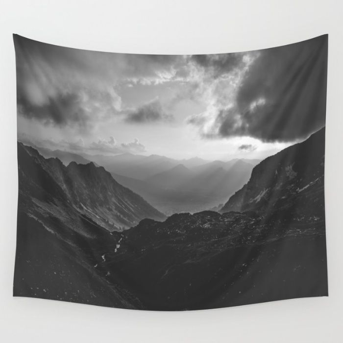 The 11 best images about tapestry on pinterest urban uutfitters valley black and white landscape photography wall tapestry gumiabroncs Image collections