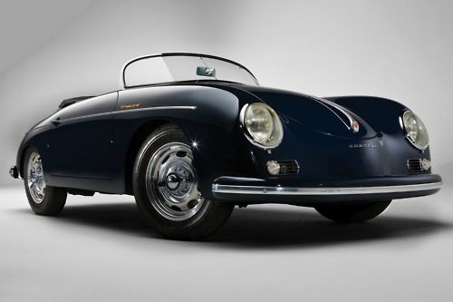 A Porsche speedster at the dream house?! Why yes! [Dreaming is free]